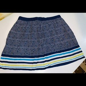 Tommy Hilfiger Lined  Skirt Checks and Stripes